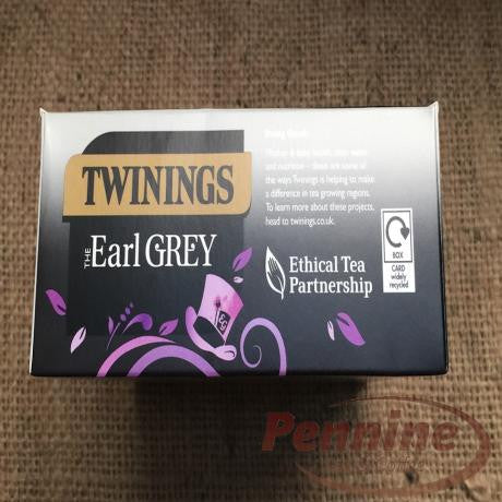 Twinings Earl Grey String and Tag (100x2g)
