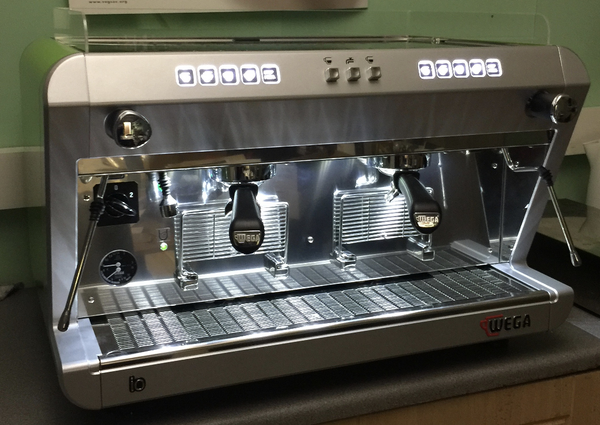 Wega IO 2 Group Espresso Coffee Machine Package