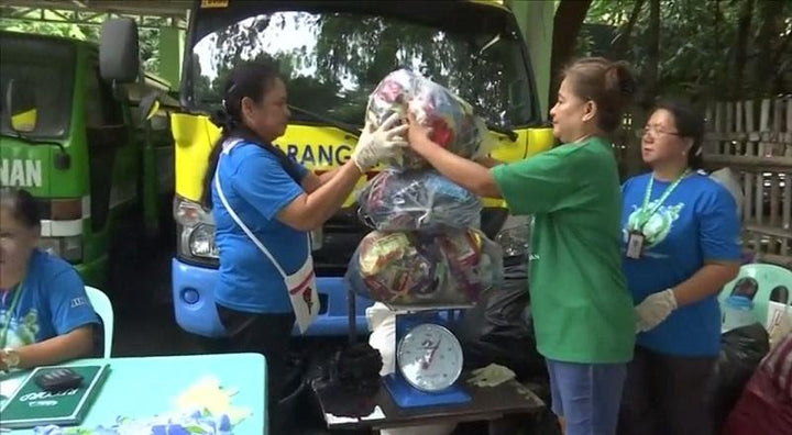 Did You Know: Food-For-Trash Initiative in a Philippine Barangay