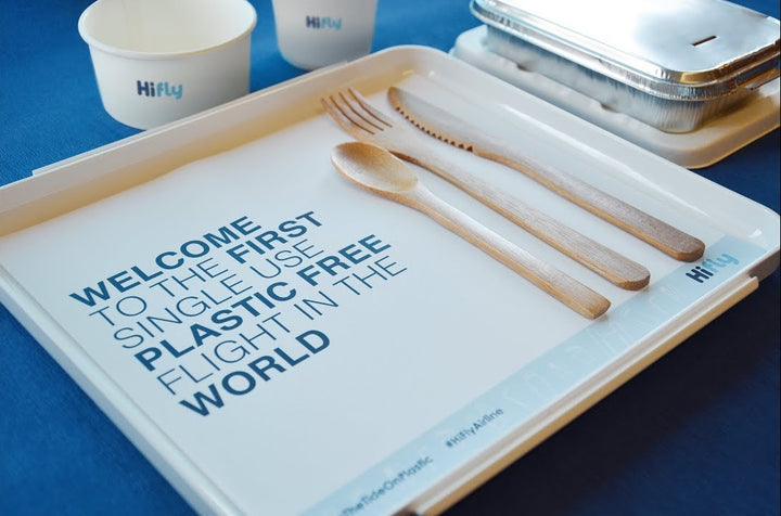 Did You Know: World's First Single-Use Plastic Free Flight