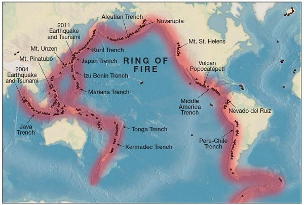 pacific ring of fire