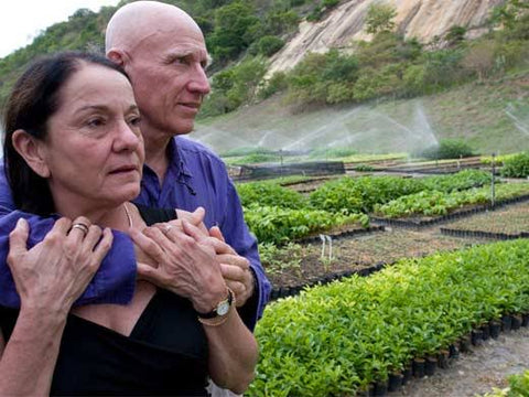 Brazilian Photographer Sebastião Ribeiro Salgado and Wife Lelia Salgado