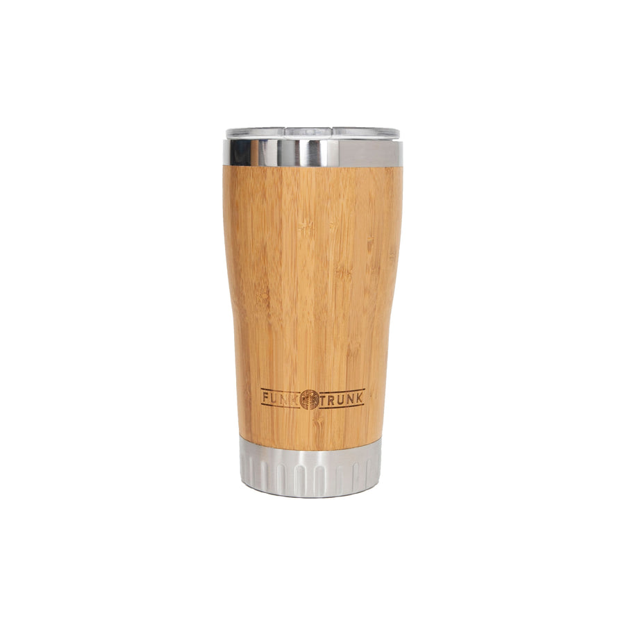 Funk Trunk bamboo cup with lid