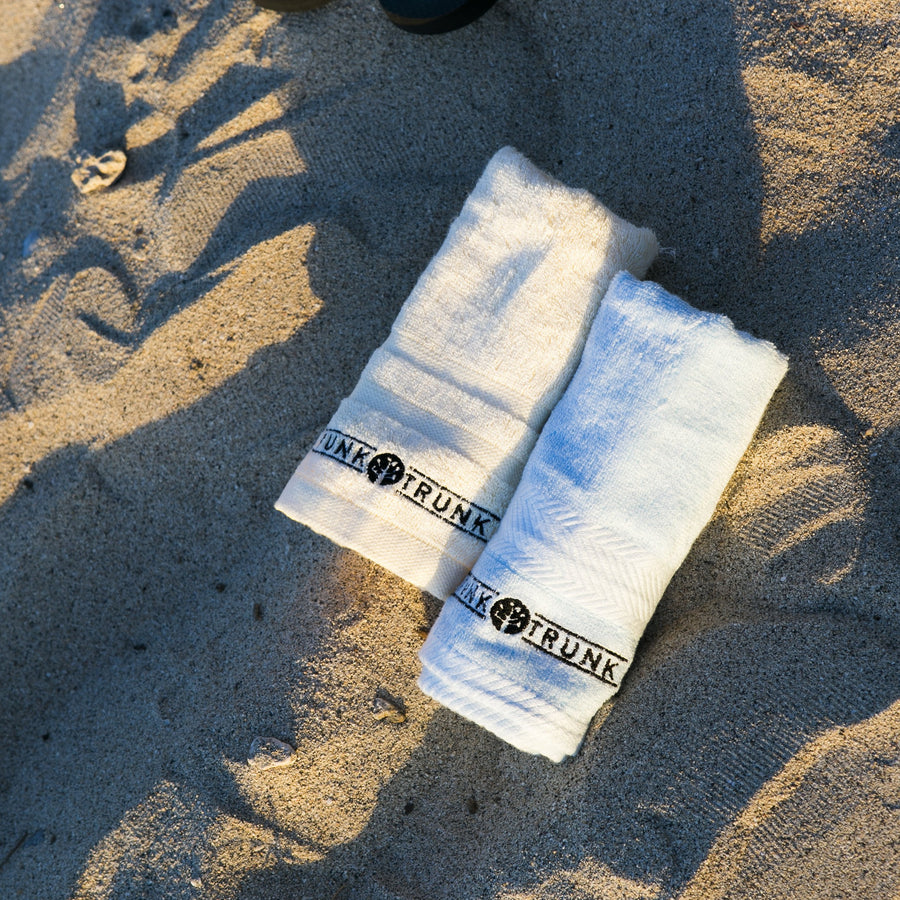 The Funk Trunk Bamboo Hand Towel is also very absorbent.