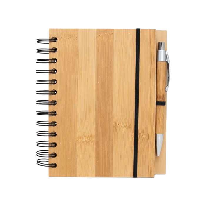 Bamboo Notebook + Pen