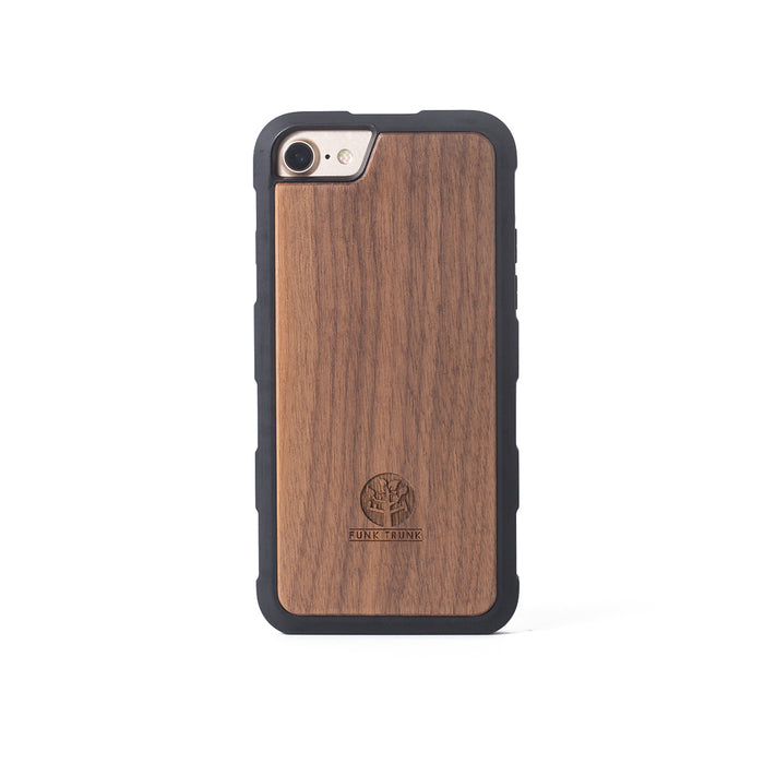 iPhone 6/6S/7/8 Walnut Phone Bumper Case