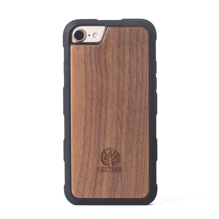 iPhone 6/6S/7/8 Plus Walnut Phone Case