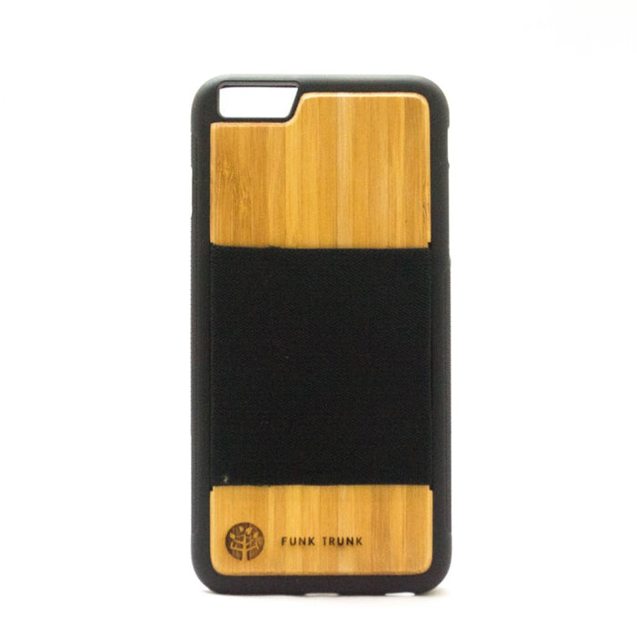 iPhone 6/6S Plus Bamboo Wallet Case
