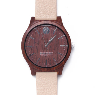 CASUAL Rosewood Watch