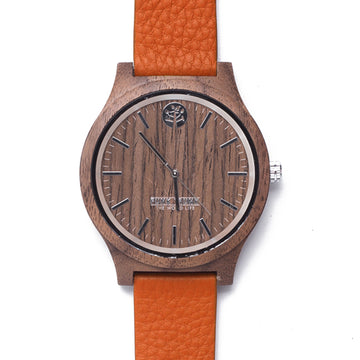 CASUAL Walnut Watch