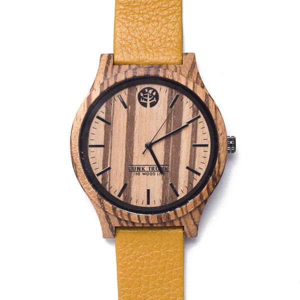 CASUAL Zebrawood Watch