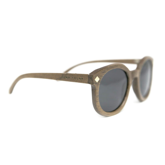 Stella Walnut Sunglasses