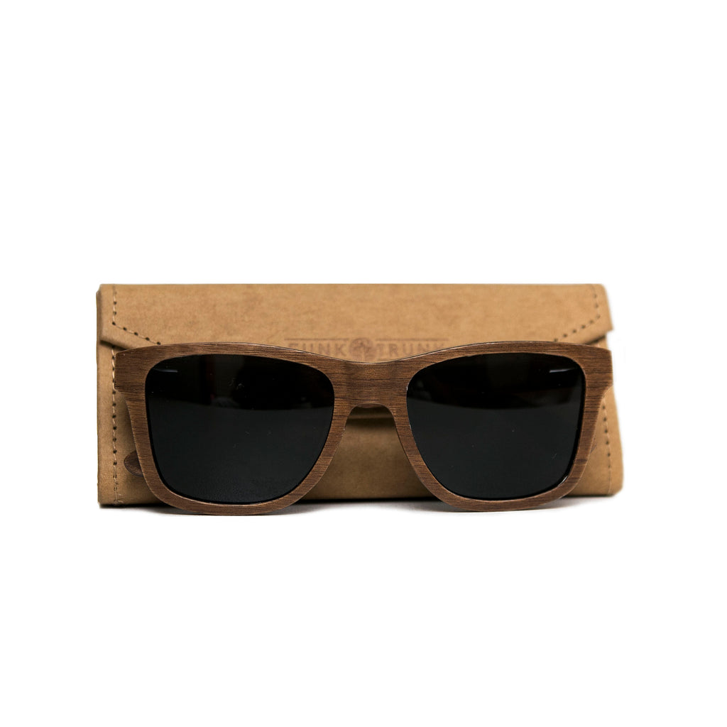 CLASSIC Walnut Sunglasses/Prescription Glasses