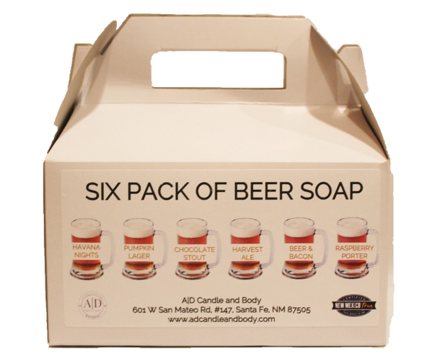 Six Pack of Beer Soap