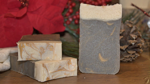 Gingerbread Soap Bar