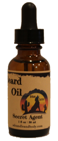 Secret Agent Beard Oil
