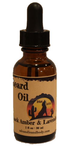 Black Amber & Lavender Beard Oil