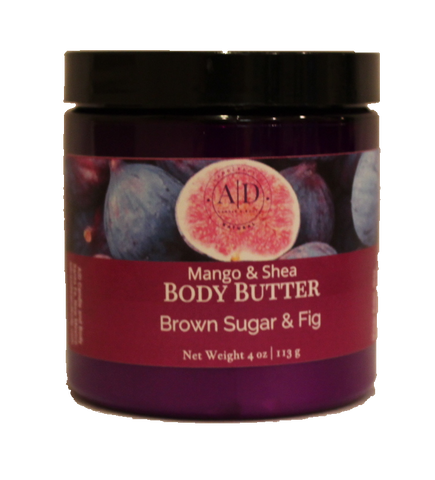 Brown Sugar and Fig Whipped Body Butter