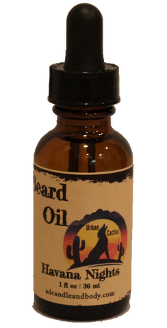 Havana Nights Beard Oil