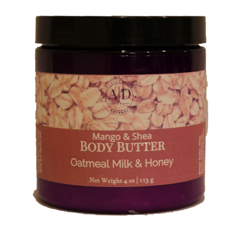 Oatmeal Milk & Honey Body Butter