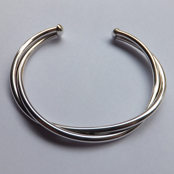 Double Twist Bangle