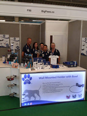 Exhibition team at Pet Show