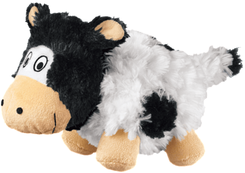KONG cruncheez cow dog toy BIGPAWS.CO