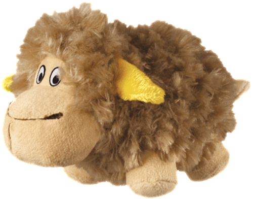 KONG cruncheez sheep dog toy BIGPAWS.CO