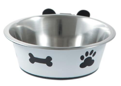 Wall Mounted Dog Bowls Dog Bowl & Holder BIGPAWS.CO
