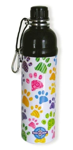 puppy paws style water bottle for dog