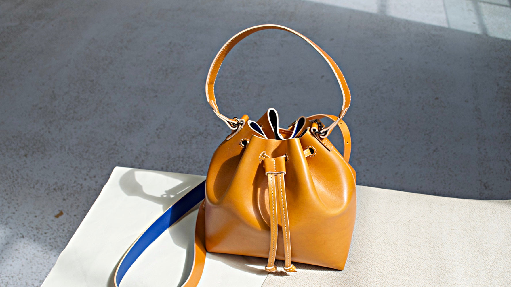 millie handcrafted leather bags by mollum vellum