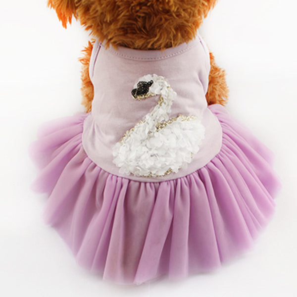 Chelsea Ballerina Dog Dress - Purple - Haute Dog Shop