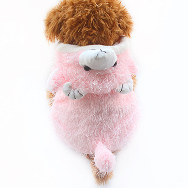 Fuzzy Wuzzy Bear Pajamas - Haute Dog Shop