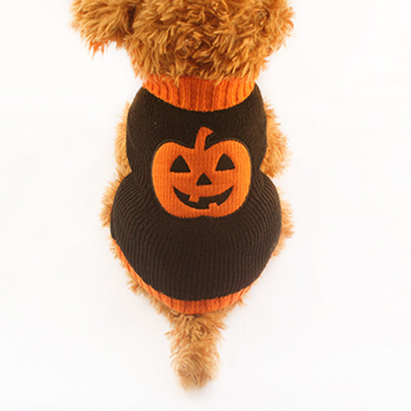 Boo! Pumpkin Halloween Sweater - Haute Dog Shop