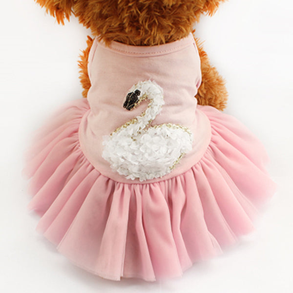 Chelsea Ballerina Dog Dress - Pink - Haute Dog Shop