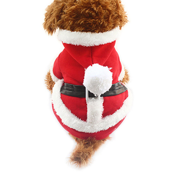 Santa Claus Dog Costume - Haute Dog Shop