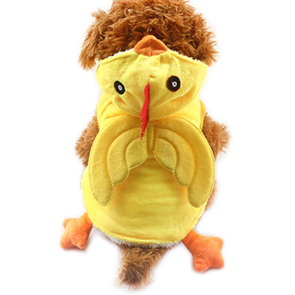 Coo Coo Chicky Halloween Costume - Yellow - Haute Dog Shop