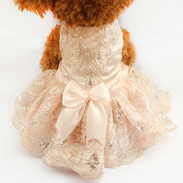 Elizabeth Wedding Dress - Haute Dog Shop