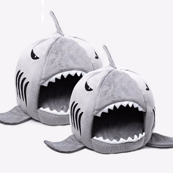 Shark Attack Doggie Bed - Haute Dog Shop