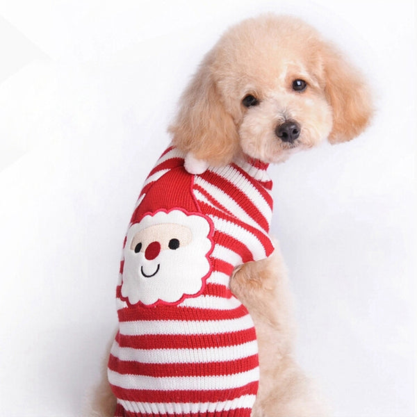 Ho Ho Ho! Santa Claus Dog Sweater - Haute Dog Shop