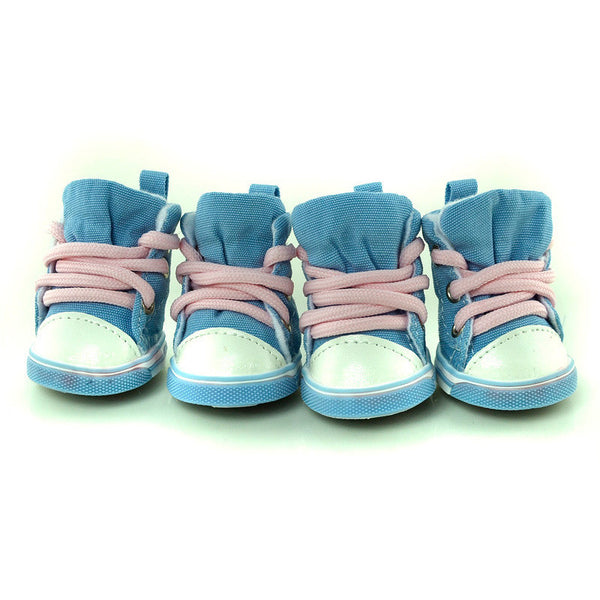 Buddy Sneakers - Baby Blue - Haute Dog Shop