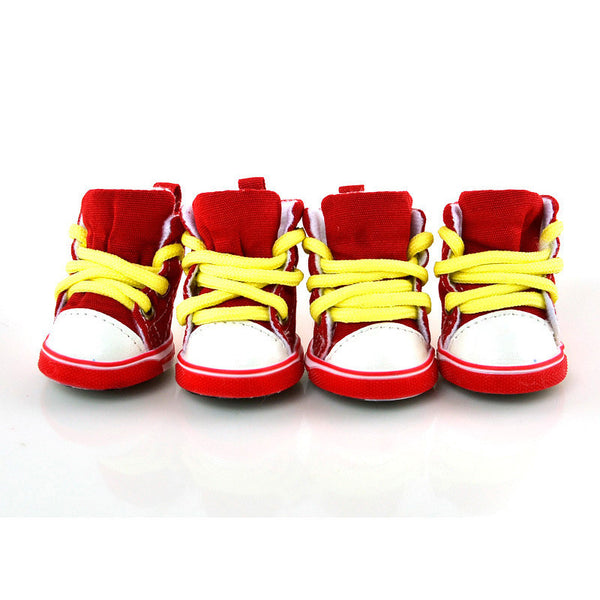 Buddy Sneakers - McDees Red - Haute Dog Shop