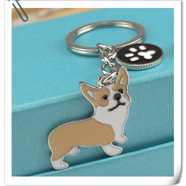 Corgi Key Chain - Haute Dog Shop