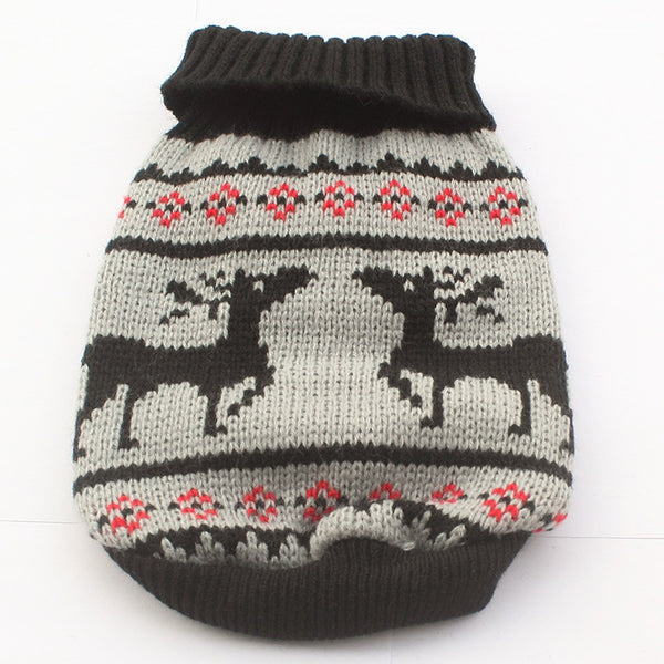 Charlie Reindeer Sweater - Haute Dog Shop