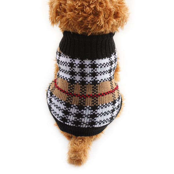 Winston Checker Sweater - Haute Dog Shop