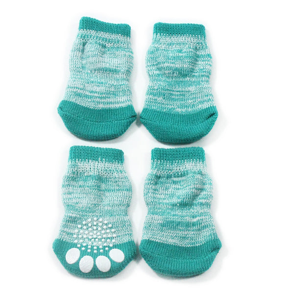 Bella Paw Socks - Green - Haute Dog Shop