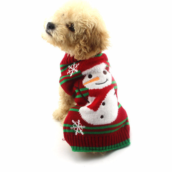 Frosty The Snowman Sweater - Haute Dog Shop