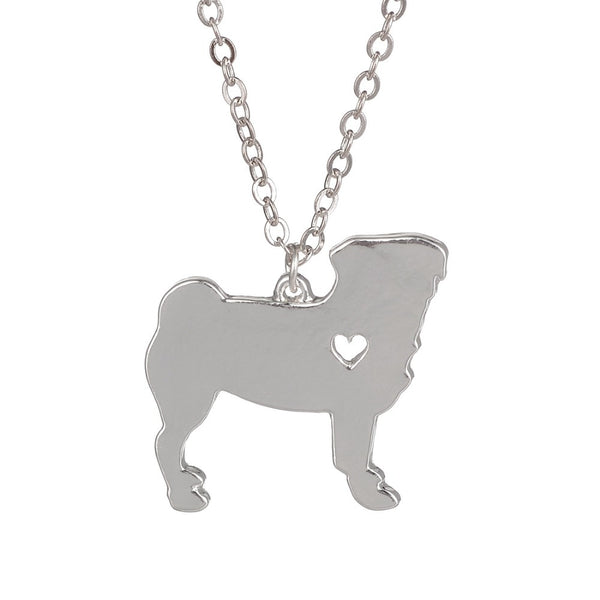 Puggy Pug Necklace