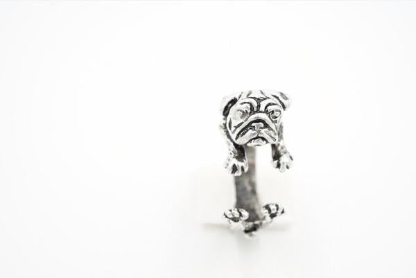 Pugsly Pug Ring