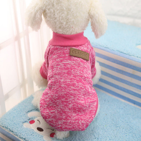 Cooper Classic Sweater - Pink - Haute Dog Shop